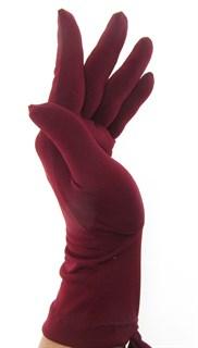 Трикотажные тонкие перчатки. Разные цвета - фото 20105
