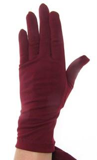 Трикотажные тонкие перчатки. Разные цвета - фото 20106