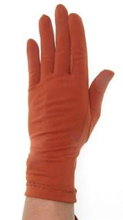 Трикотажные тонкие перчатки. Разные цвета - фото 20108