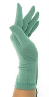 Трикотажные тонкие перчатки. Разные цвета - фото 20109