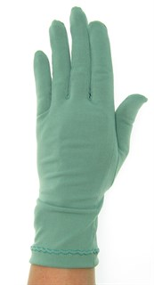 Трикотажные тонкие перчатки. Разные цвета - фото 20110