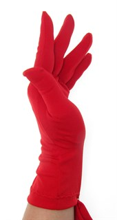 Трикотажные тонкие перчатки. Разные цвета - фото 20116