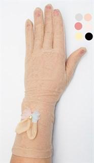 3984. Летние перчатки сенсорные удлиненные