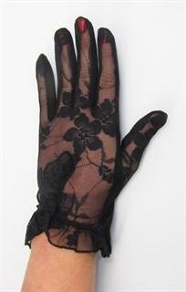 3985. Летние перчатки сенсорные с рюшей - фото 20541