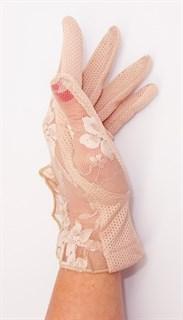 3985. Летние перчатки сенсорные с рюшей - фото 20544