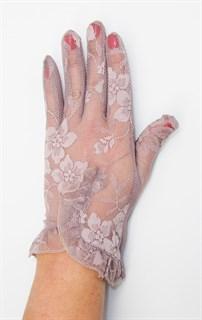 3985. Летние перчатки сенсорные с рюшей - фото 20545
