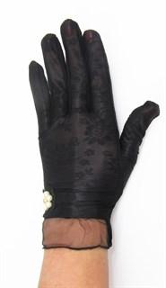 3987. Черные летние перчатки сенсорные