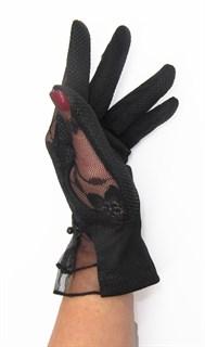 3988. Черные летние перчатки сенсорные - фото 20572