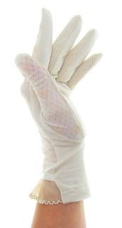 3992. Тонкие перчатки сенсорные. Хлопок - фото 20627
