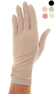 3993. Тонкие перчатки сенсорные. Хлопок +трикотаж в рубчик