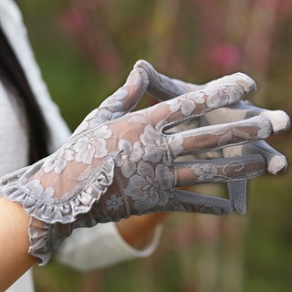 3985. Летние перчатки сенсорные с рюшей - фото 20973