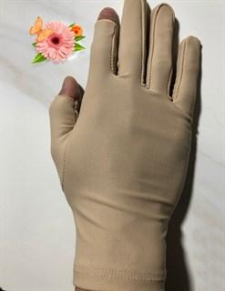 4047. Тонкие перчатки повседневные - фото 21029
