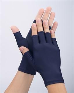 4048. Тонкие перчатки повседневные без пальцев - фото 21034