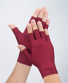 4048. Тонкие перчатки повседневные без пальцев - фото 21035