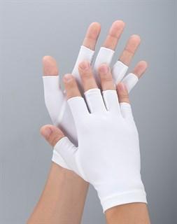 4048. Тонкие перчатки повседневные без пальцев - фото 21036