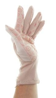 4090. Летние перчатки из хлопка без рисунка - фото 21543