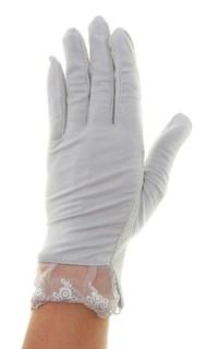 4090. Летние перчатки из хлопка без рисунка - фото 21544