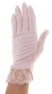 4090. Летние перчатки из хлопка без рисунка - фото 21546
