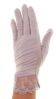 4090. Летние перчатки из хлопка без рисунка - фото 21550