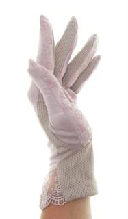 4090. Летние перчатки из хлопка без рисунка - фото 21551
