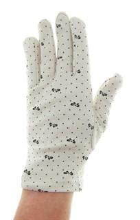 4091. Простые летние перчатки из хлопка - фото 21568