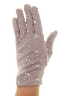 4091. Простые летние перчатки из хлопка - фото 21570