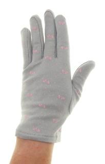 4091. Простые летние перчатки из хлопка - фото 21574