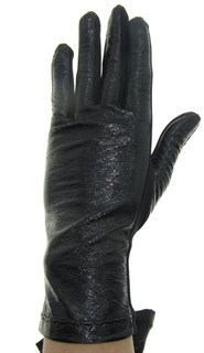 4098. Короткие перчатки под лак и трикотаж