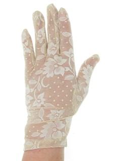 2790. Короткие перчатки. Гипюр - фото 21857