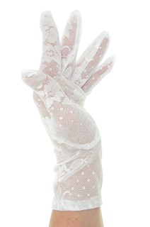 2790. Короткие перчатки. Гипюр - фото 21862