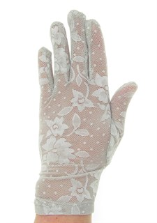 2790. Короткие перчатки. Гипюр - фото 21863