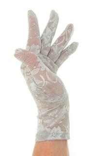 2790. Короткие перчатки. Гипюр - фото 21864