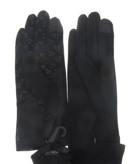 4120. Сенсорные прозрачные перчатки с сеточкой - фото 21881