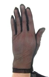 4120. Сенсорные прозрачные перчатки с сеточкой
