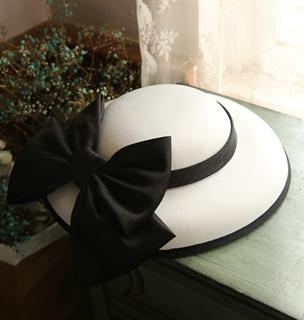 4157. Белая шляпка Пэрис - фото 22072