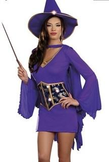 Фиолетовая фея с двойной юбкой