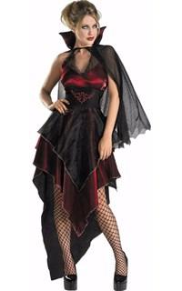 Платье королевы вампиров с краеугольной юбкой