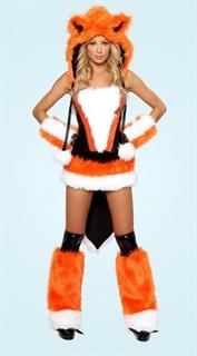 Карнавальный костюм пушистой лисички