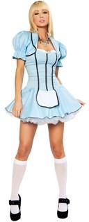 Маскарадный костюм Алисы  в Зазеркалье. Платье и болеро