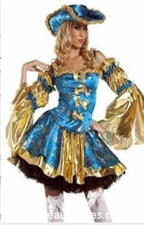 Маскарадный костюм фаворитки короля