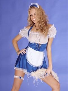 Эротический костюм горничной. BELWEISS
