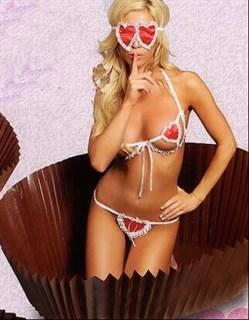 Эротический костюм сексуальной конфетки