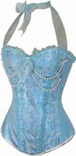 Голубой корсет для принцессы