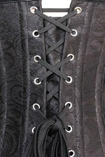 Корсет под грудь с цепочками - фото 8405