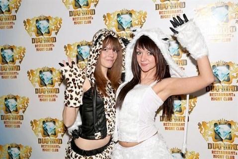 Карнавальный костюм леопарда с мехом - фото 8747