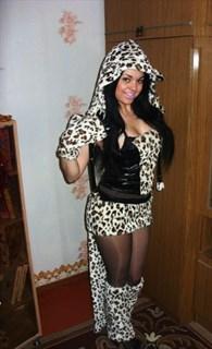 Карнавальный костюм леопарда с мехом - фото 8752