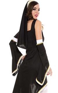 Платье монахини с рукавами - фото 8938