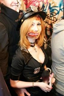 Эротический костюм полицейского - платье на молнии - фото 8971