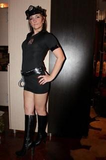 Эротический костюм полицейского - платье на молнии - фото 8973