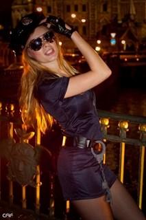 Эротический костюм полицейского - платье на молнии - фото 8976